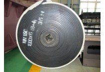 Rubber belt with high wear resistance
